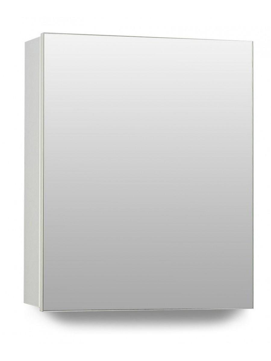 Hampstead 1 Door Mirror Cabinet 40cm White