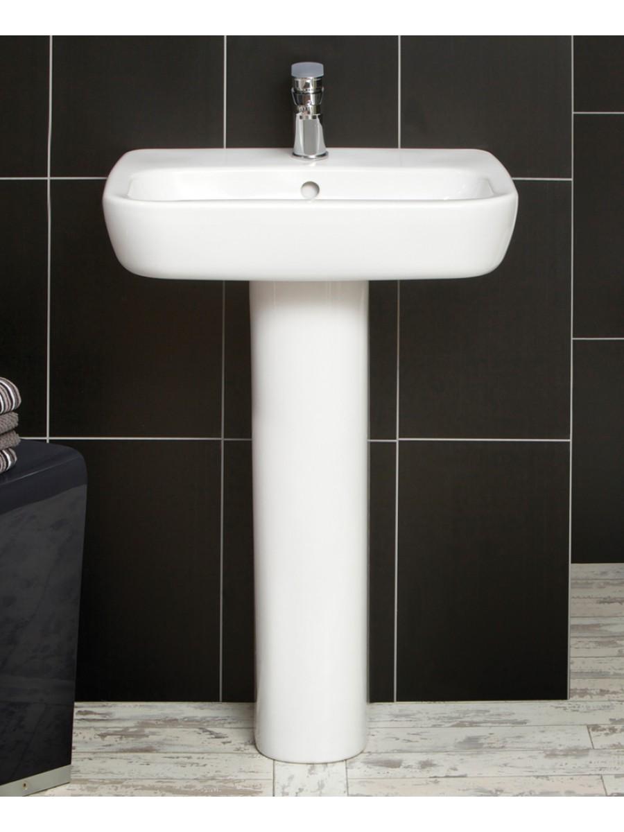 Farli Basin 60cm & Pedestal