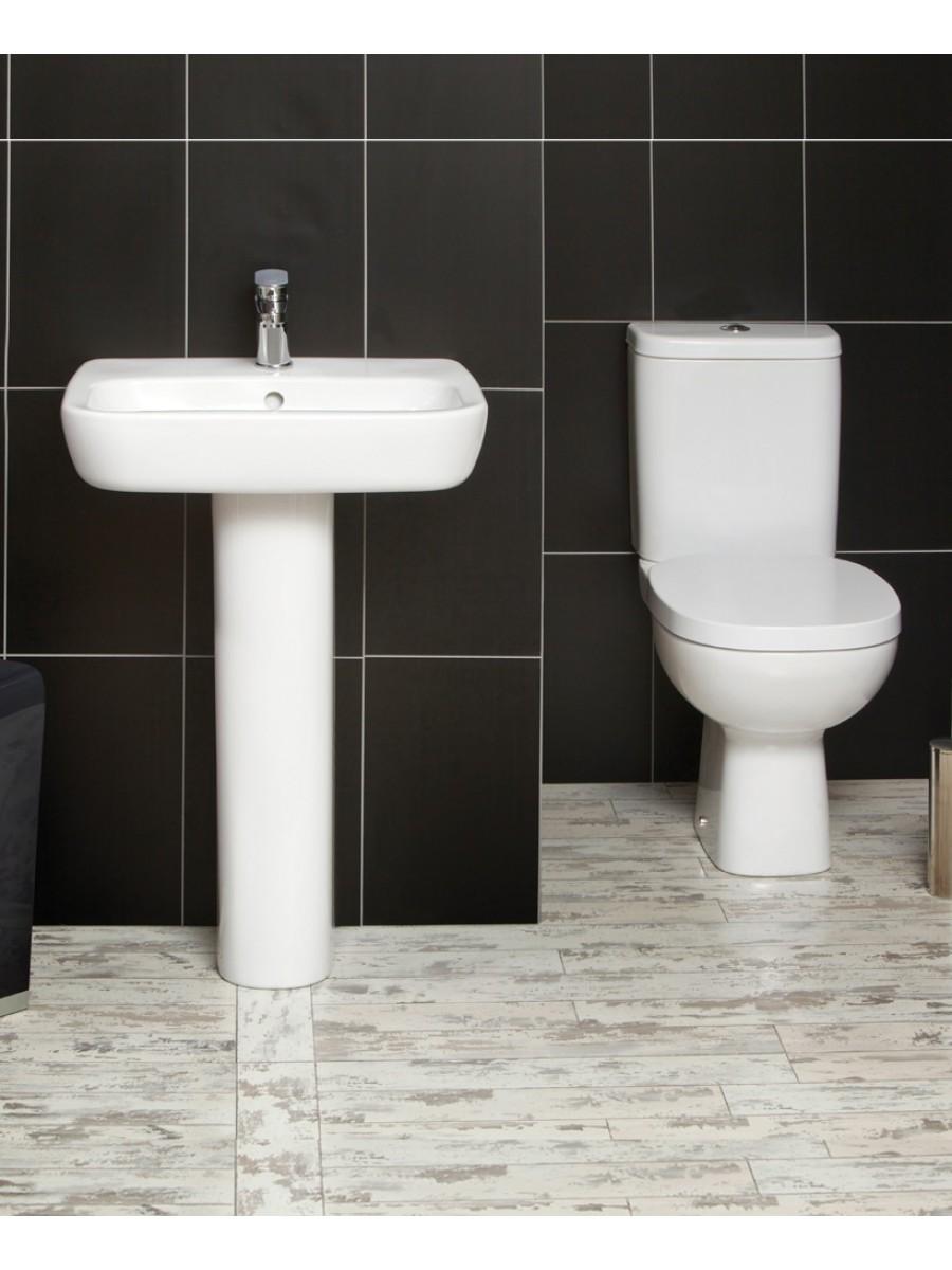 Farli Toilet and Wash Basin Set