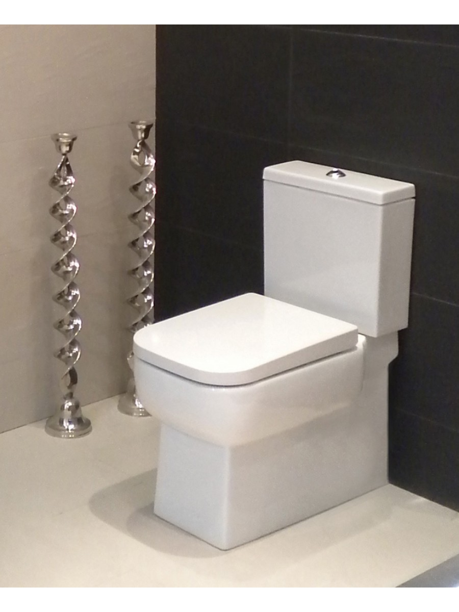RAK Florence Fully Shrouded Close Coupled Toilet & Soft Close Seat