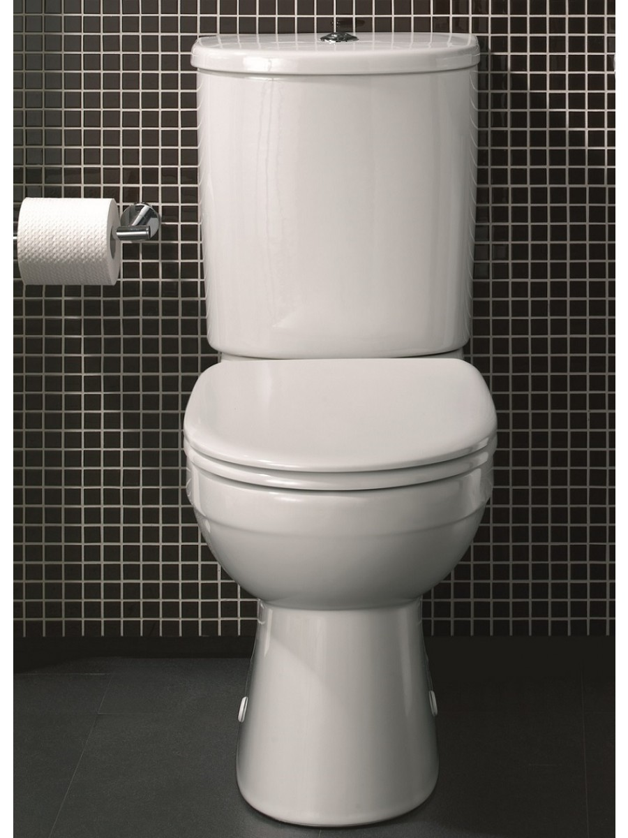 Twyford Flushwise® Galerie Close Coupled Toilet & Soft Close Seat