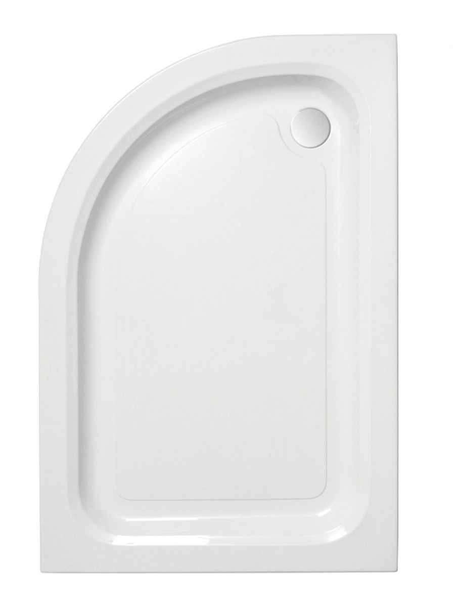 JT Ultracast 900 x 800 Offset Quadrant Shower Tray LH