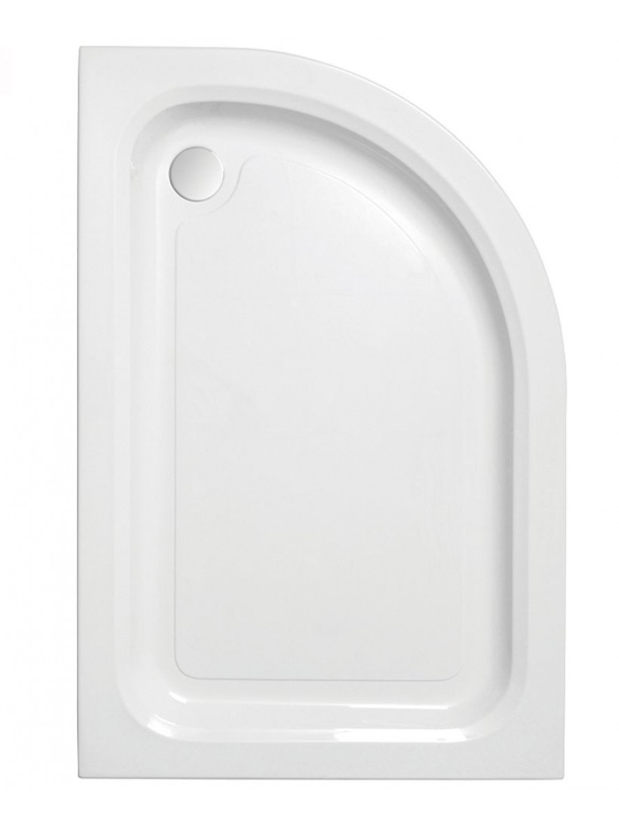 JT Ultracast 900 x 800 Offset Quadrant Shower Tray RH