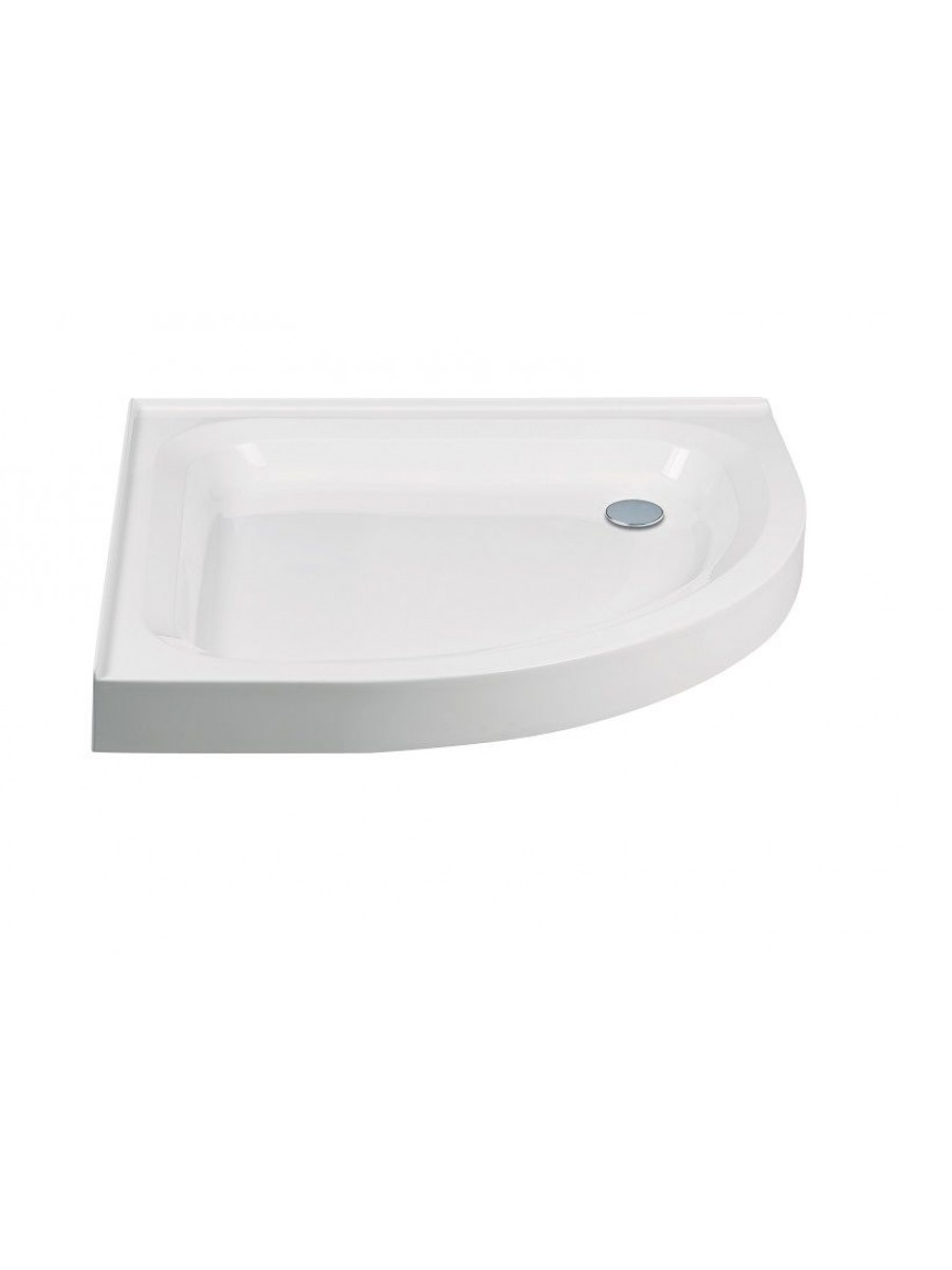JT Ultracast 1000 Quadrant 2 Upstand Shower Tray 550mm Radius - ** Special order