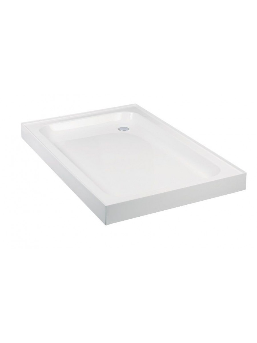 JT Ultracast 1000 x 800 Rectangle 4 Upstand Shower Tray