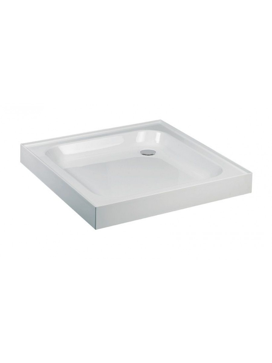 JT Ultracast 1000 Square 4 Upstand Shower Tray - - *Special Order