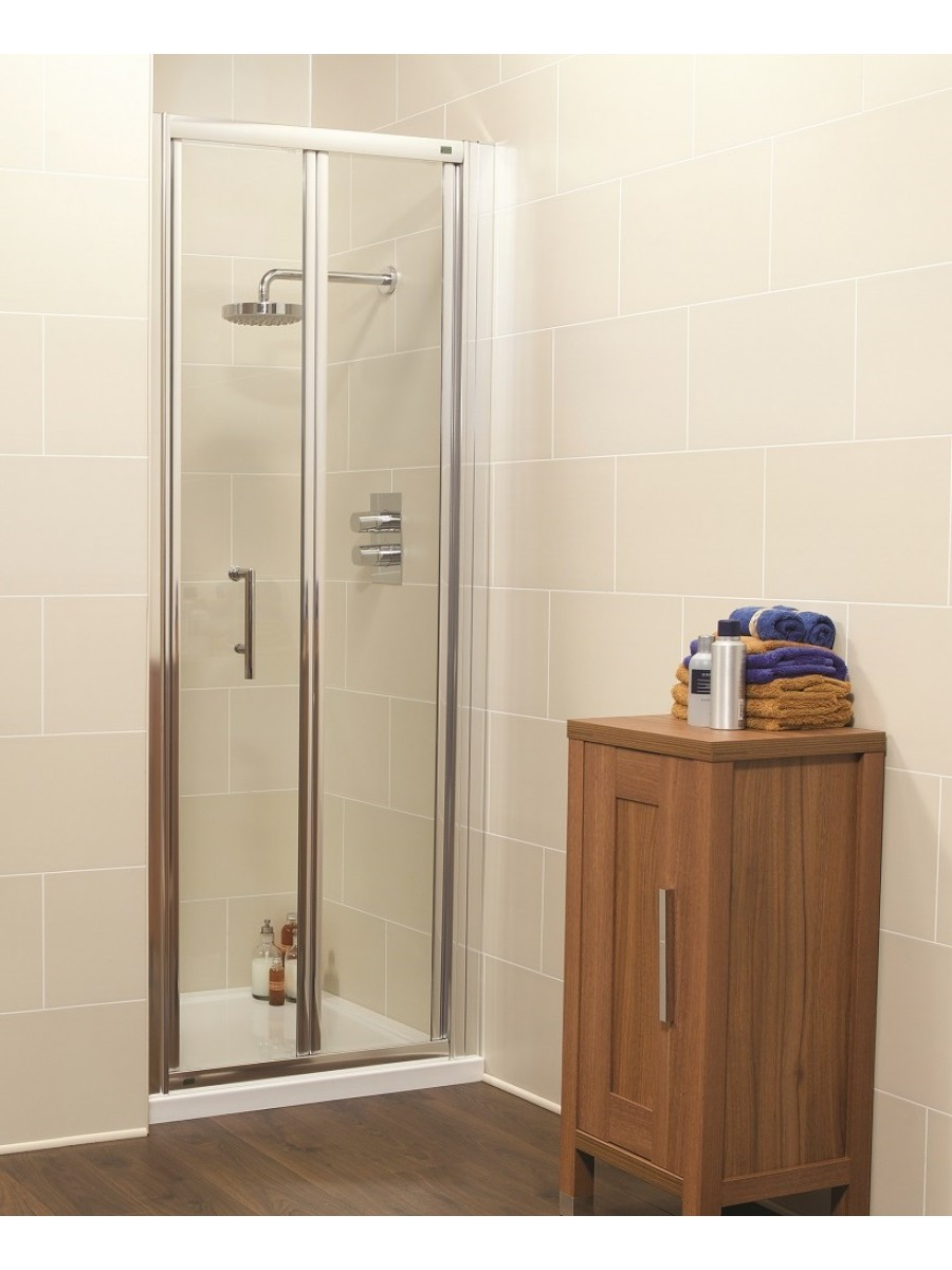 Kyra Range 700 Bifold Shower Door - Adjustment 660 -720mm