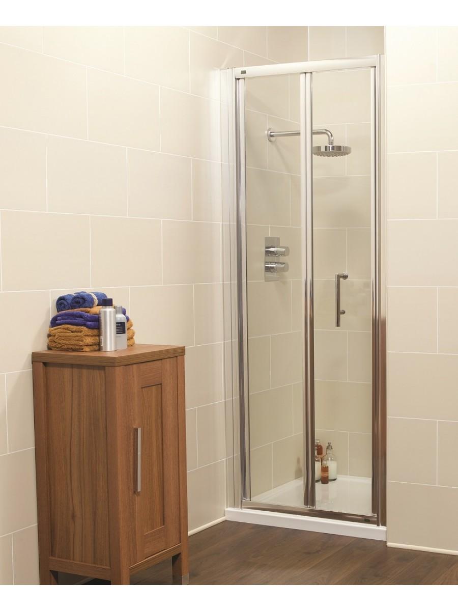 Kyra Range 850 Bifold Shower Door - Adjustment 800-860mm