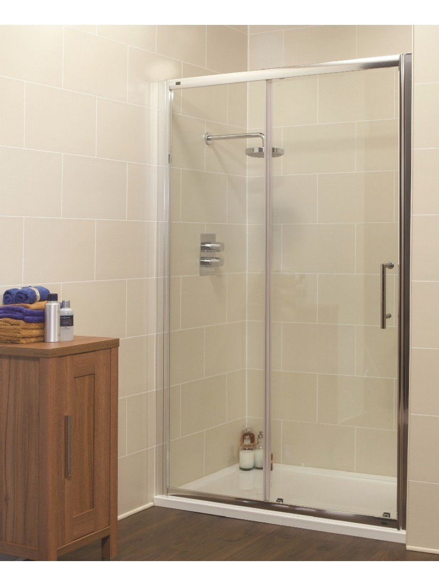 Kyra Range 1050 Sliding Shower Door - Adjustment 1000-1060mm