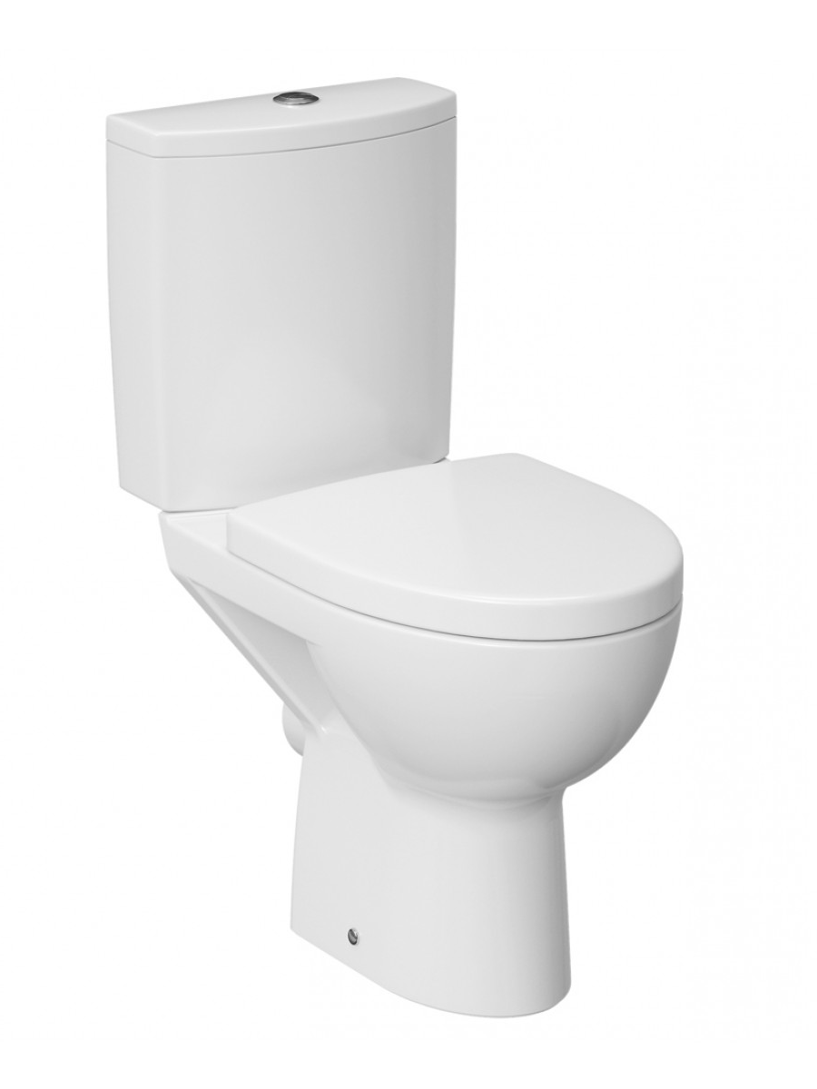Prato RIMLESS Close Coupled Toilet & Soft Close Seat