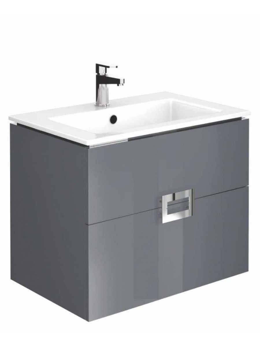 Ava Anthracite 55 cm Wall Hung Vanity Unit and Basin ** Further Reductions**