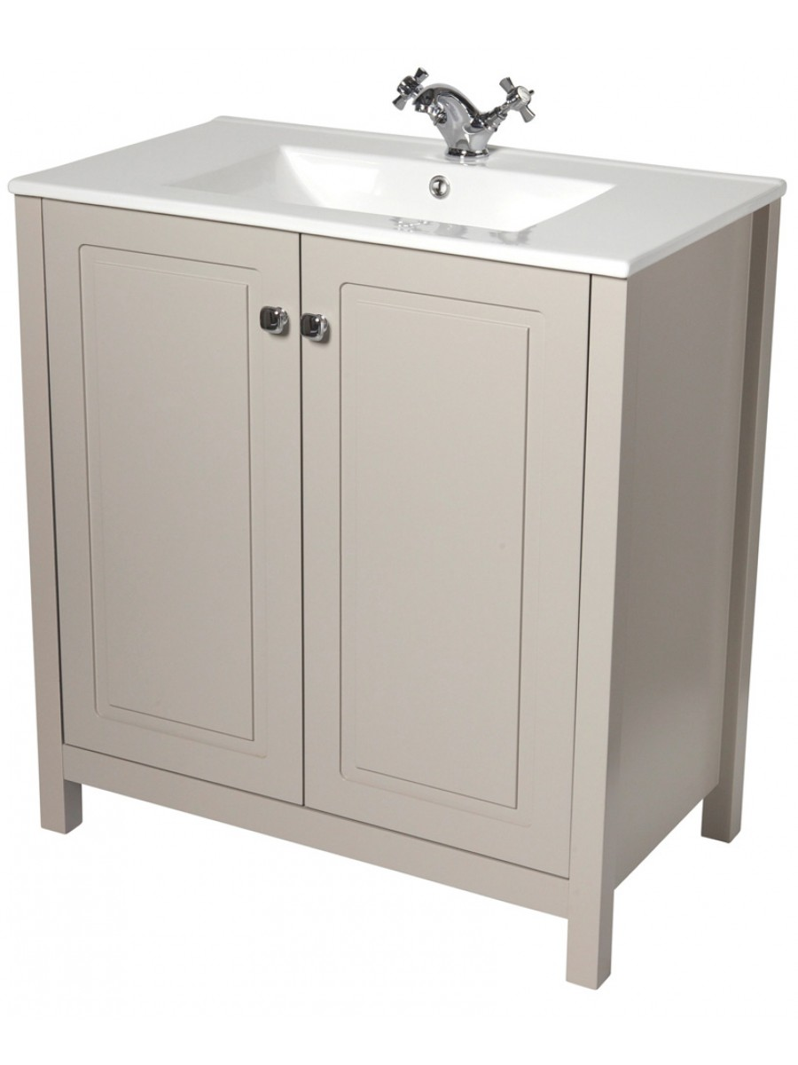 Ashbury traditional 80 stone vanity unit toledo basin - Marble vanity units ...