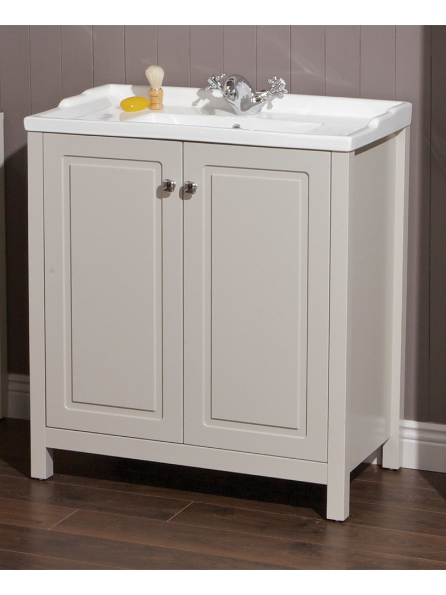 Ashbury Traditional 80 Stone Vanity Unit Amp Vitaria Basin