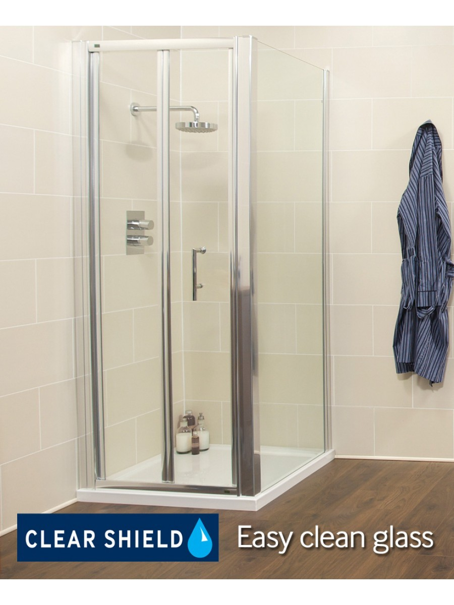 Kyra Range 900 x 760mm Bifold Shower Door