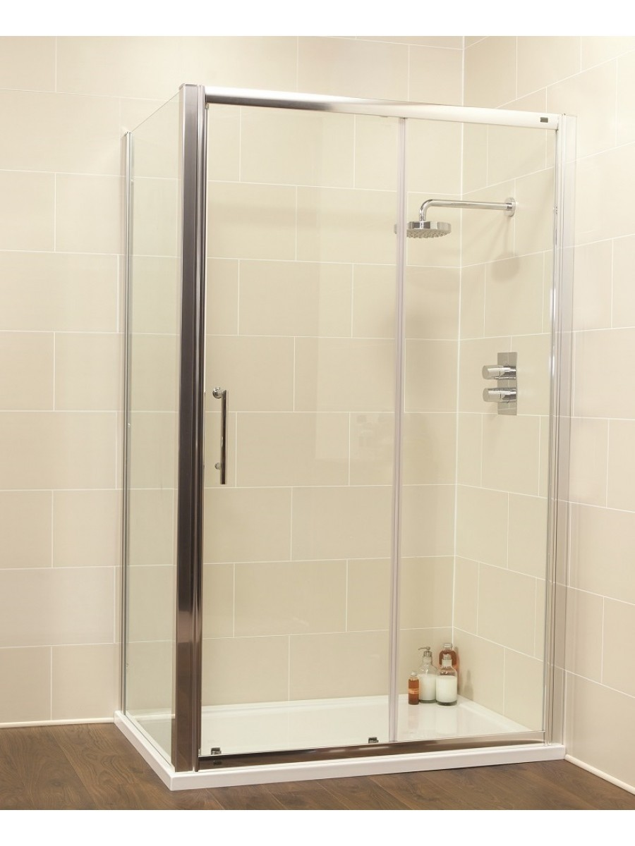 Kyra Range 1600 x 700 sliding shower door