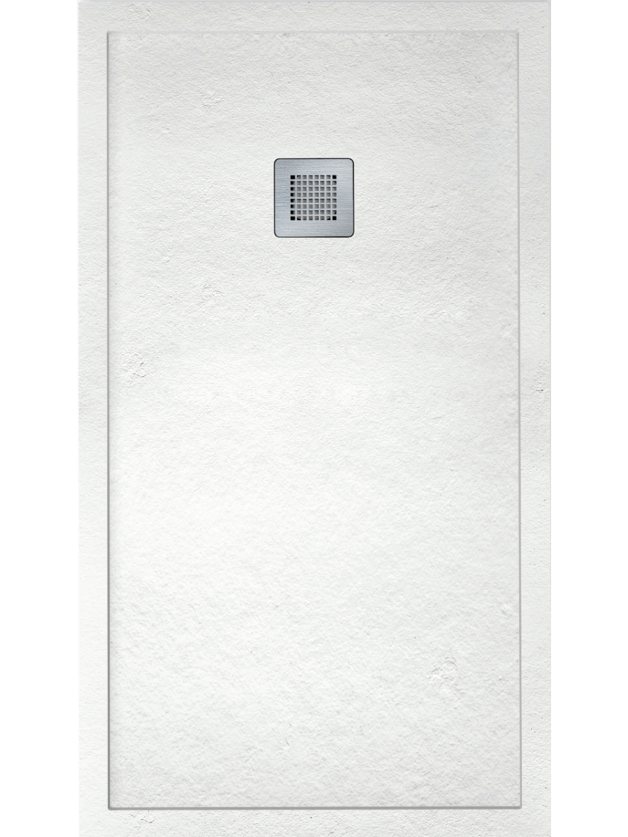 IMPACT 1000 x 900 Shower Tray White - FREE shower waste