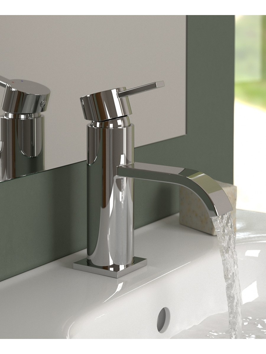 Lotus Basin Mixer with FREE Click Clack Basin Waste - * FURTHER REDUCTIONS