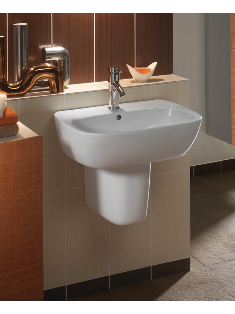 Twyford Moda Basin 50cm & Semi Pedestal