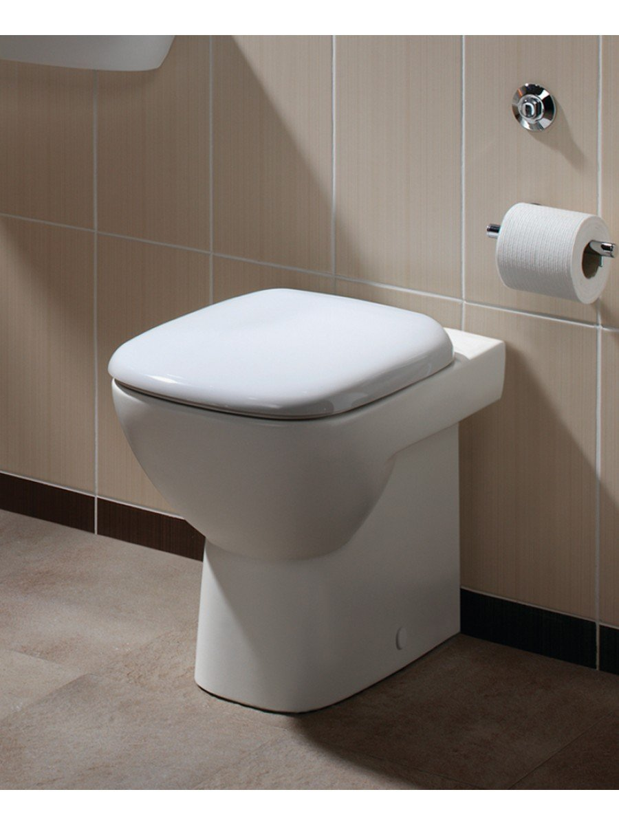 Twyford Moda Back to Wall Toilet & Soft Close Seat - ** FURTHER REDUCTIONS