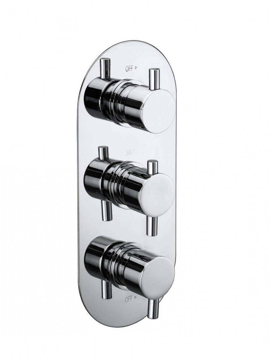 OPAL Triple Control Concealed Thermostatic Shower Valve