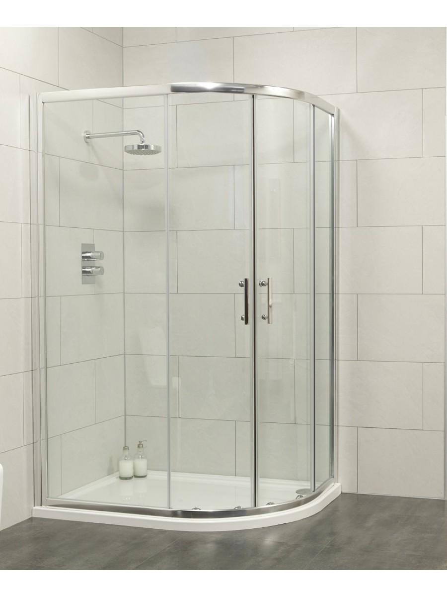Cello 1200x900 Offset Quadrant Enclosure - Adjustment 1165-1190mm + 865-890mm - **Further Reductions