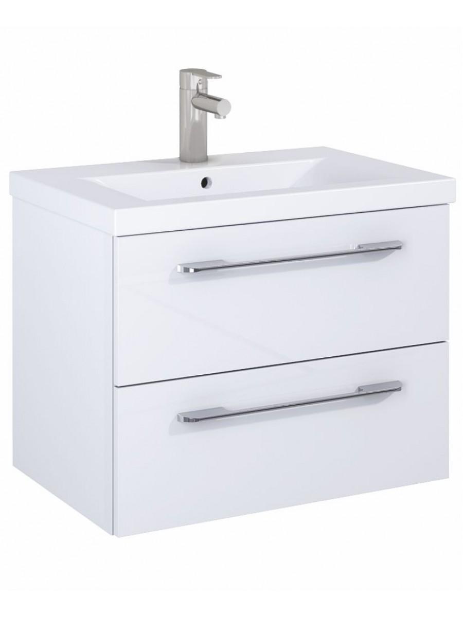 Soho Plus 60cm Gloss White Vanity Unit with Basin