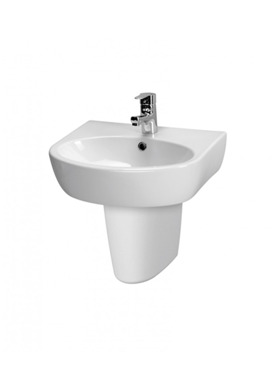 Prato Basin 50cm & Semi Pedestal (1TH)