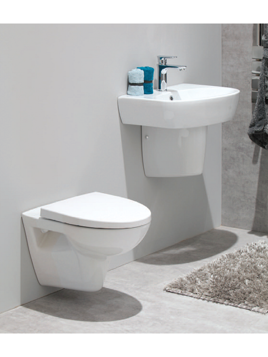 Prato Wall Hung Toilet and Basin Set   Tap included. Prato Wall Hung Toilet and Basin Set   Tap included    Toilet and