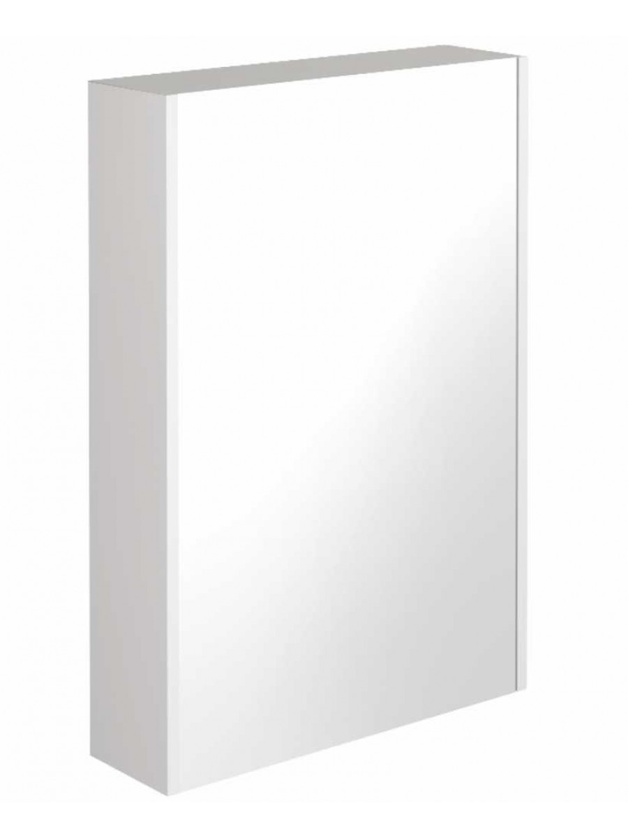 Regine Gloss White 55 Mirror Cabinet