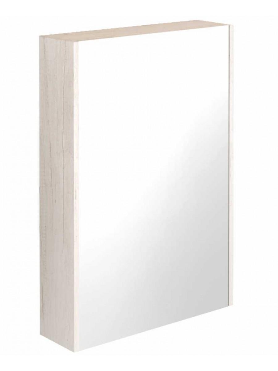 Regine Light Wood 55 Mirror Cabinet