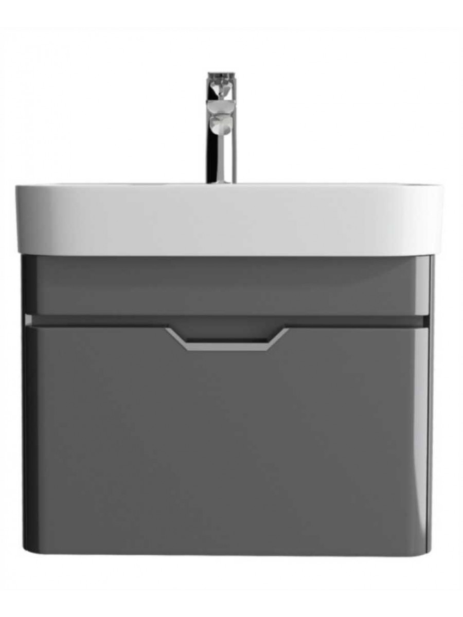 Aquiana Dark Grey 57 Vanity Unit and Basin