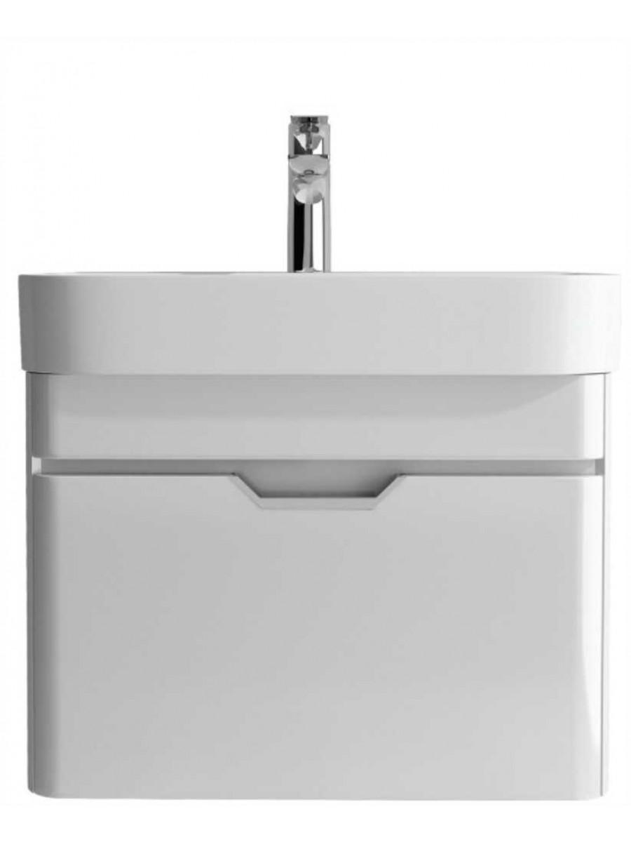 Aquiana Gloss White 57 Vanity Unit and Basin