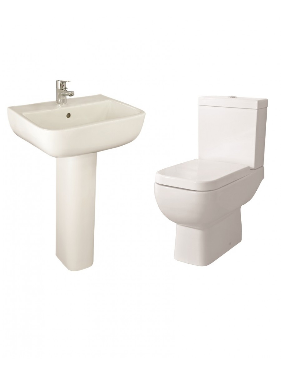 RAK Series 600 Toilet and Basin Set