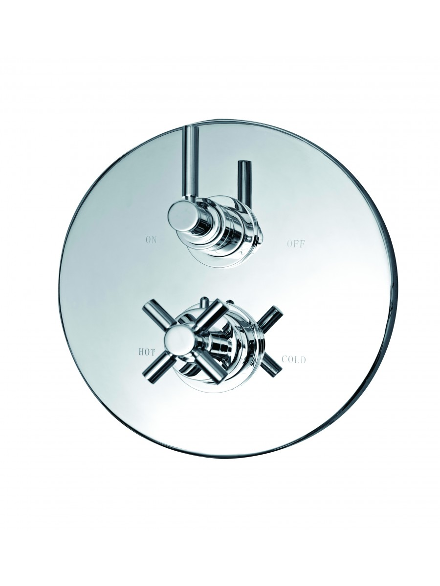 Saturn Thermostatic Shower Valve - REDUCED TO CLEAR