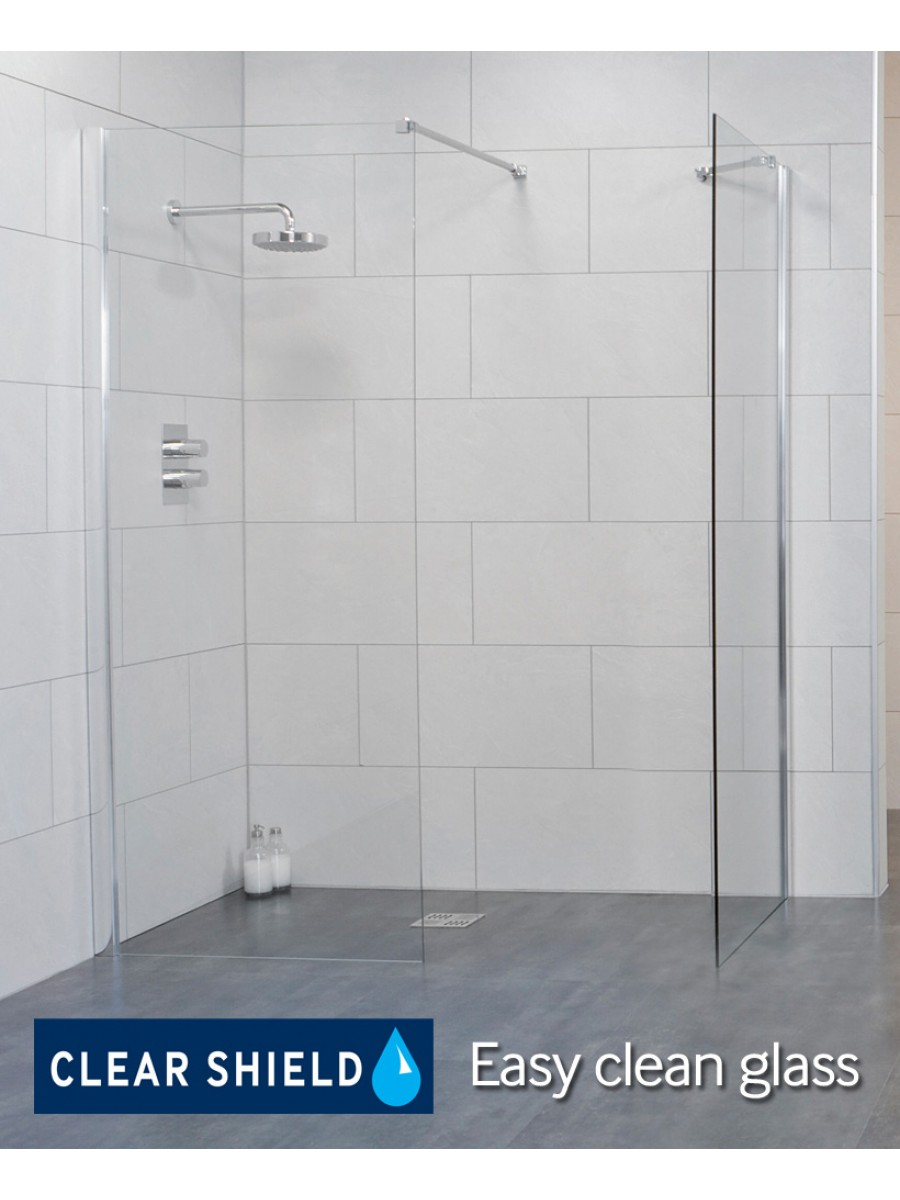 LIFE 1200 Wetroom Panel - Adjustment 1175-1200mm