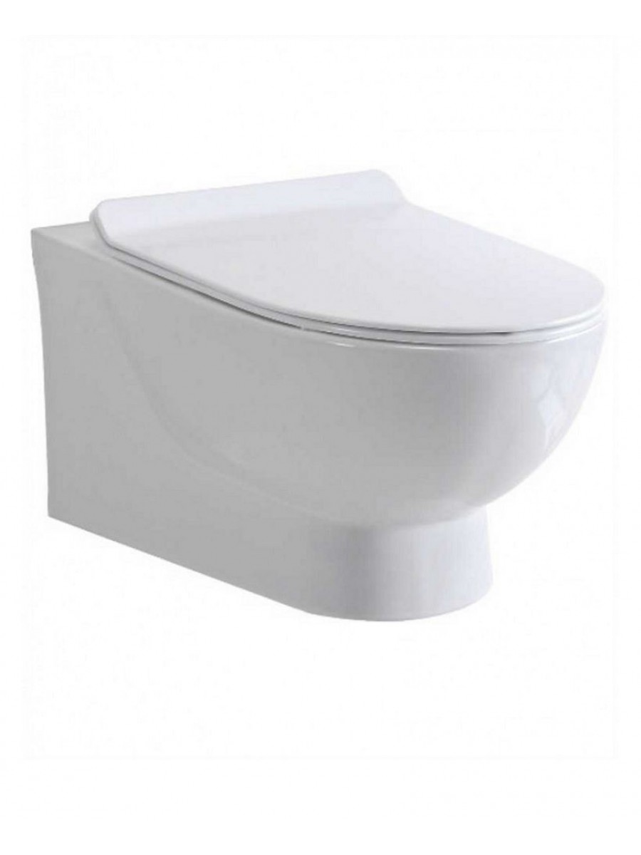 Sott'Acqua Wall Hung Toilet with soft close seat
