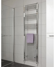 Straight 1800x600 Heated Towel Rail Chrome