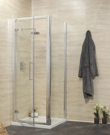 Rival 8mm 760 x 1000 Hinge Shower Door