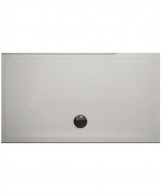 The Plane 25 mm 1600X800 Slimline Shower Tray And Free 90 mm Waste