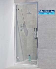 Avante 8mm 1000 Hinged Shower Door - Adjustment 940-1000mm