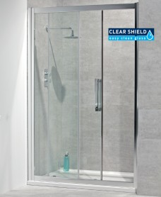 Avante 8mm 1300 Sliding Shower Door - Adjustment 1240-1300mm