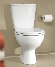 Twyford Flushwise® Alcona Close Coupled Toilet & Soft Close Seat