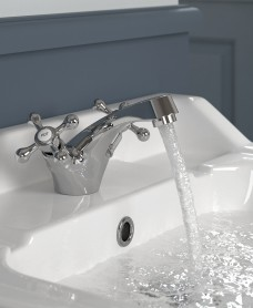Ascot Basin Mixer with FREE Click Clack Basin Waste - *FURTHER REDUCTIONS