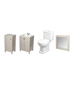 Ashbury Stone Bathroom Suite - *Special Offer