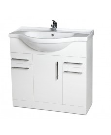 Blanco 85cm Vanity Unit & Basin - PRICE INCLUDES UNIT AND BASIN - An Extra 10% off With Code MAY10