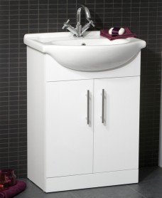 Blanco 55cm Vanity Unit & Basin - ** FURTHER REDUCTION *A Further 10% off with Code BF10