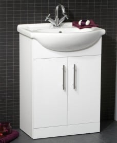 Blanco 55cm Vanity Unit & Basin