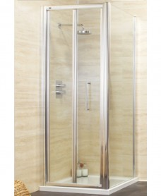 Rival 1000 x 800 Bifold Shower Door
