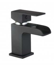 Butler Black Cloakroom Basin Mixer with FREE Click Clack Basin Waste - *FURTHER REDUCTIONS