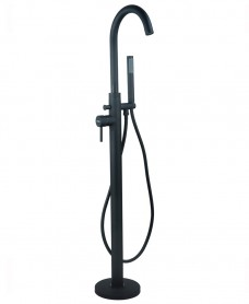 Harper Black Freestanding Bath Shower Mixer